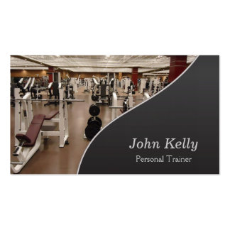 Personal Fitness Trainer Pack Of Standard Business Cards
