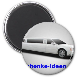 Personal gift 6 cm round magnet