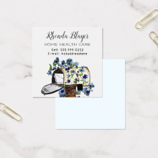 Personal Home-based Business Advertising Cards