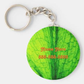 Personal Leaf Key Ring