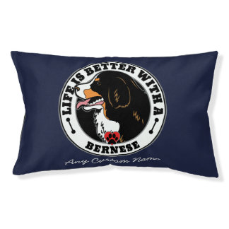 Personal Life Is Better With Bernese Mountain Dog Pet Bed