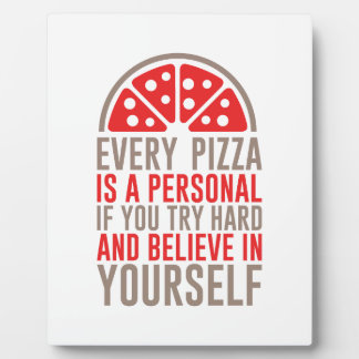 Personal Pizza Plaque
