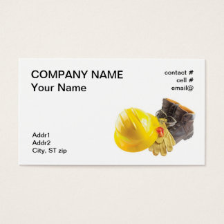 Personal Protective Equipment Business Card
