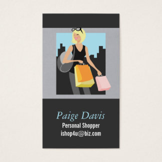 Personal Shopper Business Cards