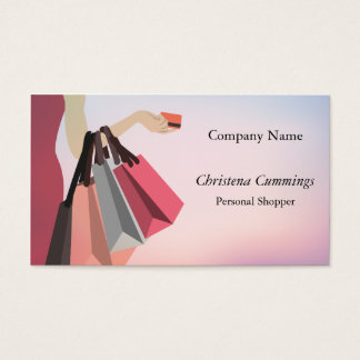 Personal Shopper - Concierge Business Card (CA)