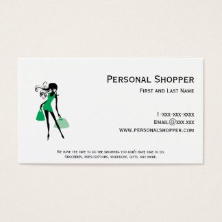Personal Shopper Green