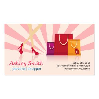 Personal Shopper Pack Of Standard Business Cards