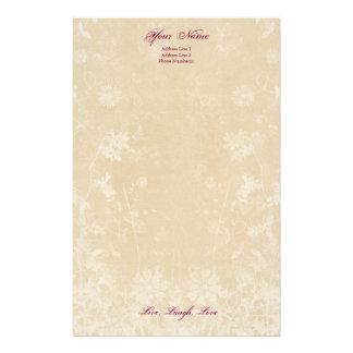 Personal Stationery Letterhead, Classy Cream