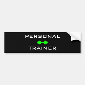 Personal Trainer Bumper Sticker