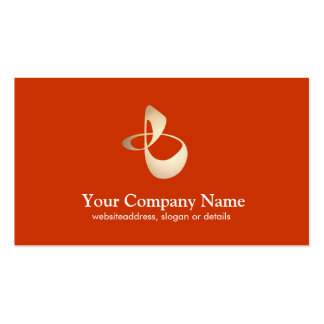 Personal Trainer Business Orange Card Pack Of Standard Business Cards