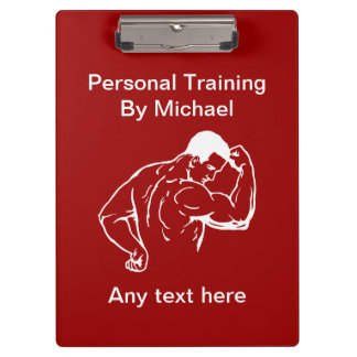 Personal Trainer Custom Clipboard