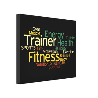 Personal Trainer/Fitness Center Canvas