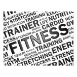 Personal Trainer & Fitness Center Flyer