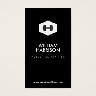 PERSONAL TRAINER, FITNESS INSTRUCTOR LOGO BUSINESS CARD