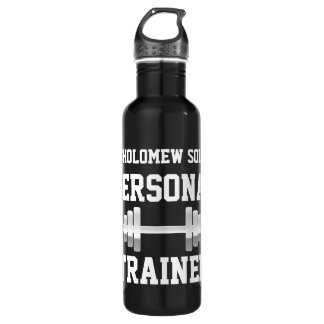Personal Trainer Water Bottle, Personalized Name 710 Ml Water Bottle
