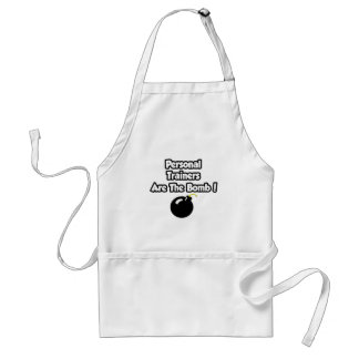 Personal Trainers Are The Bomb! Apron