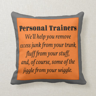 Personal Trainers Cushion