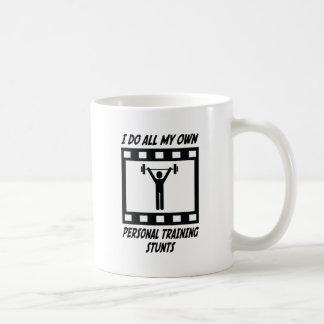 Personal Training Stunts Coffee Mug