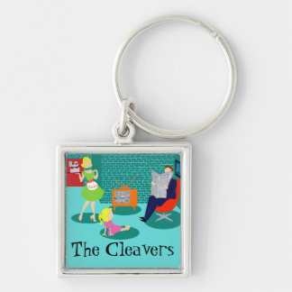 Personaled 1950's Classic Television Keychain