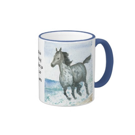 Personalisable Connemara Pony Coffee Mug