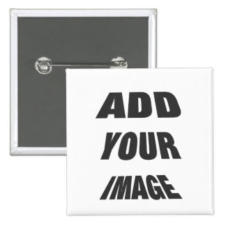 Personalisable Create Your own square Pin