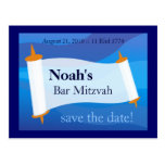 Personalise a Bar Mitzvah Postcard