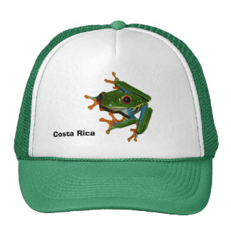 Personalise Costa Rica Red Eyed Frog Cap