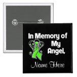Personalise In Memory Angel Non-Hodgkin's Lymphoma Badges