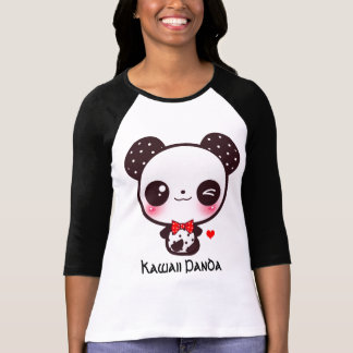 Personalise Kawaii panda T-Shirt