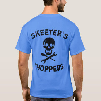 Personalise Motorcycle Choppers T Shirt, Mens T-Shirt