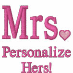 Personalise Mr & Mrs Embroidery Embroidered Gear