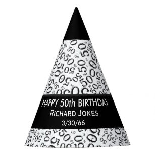 Personalise: Over The Hill 50th Birthday Theme Party Hat