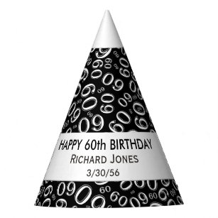Personalise: Over The Hill 60th Birthday Theme Party Hat