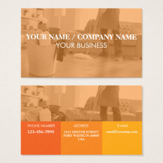 Personalise Photo And Text Business Card