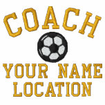 Personalise Soccer Coach Your Name Your Game!
