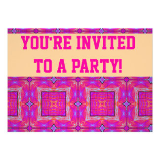 Personalise Your Party Invitation