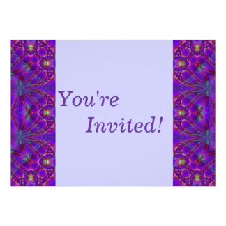Personalise Your Purple Party Invitation