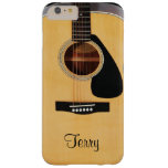 Personalised Acoustic Guitar  iPhone 6 Plus Case