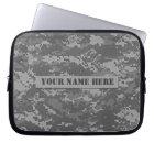 Personalised ACU Digital Camouflage Laptop Sleeve