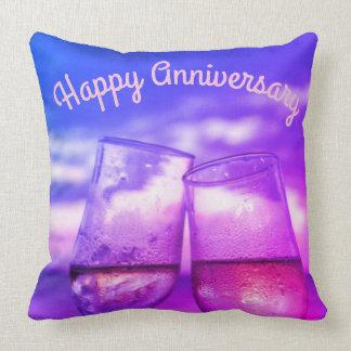 Personalised Anniversary cushion