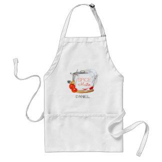 Personalised apron Spice Master chef apron