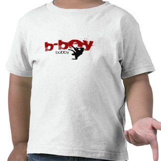"""Personalised b-boy shirt. """"add your name"""""""