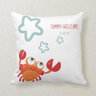 Personalised baby cushion