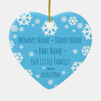 Personalised Baby First Christmas Tree Ornament