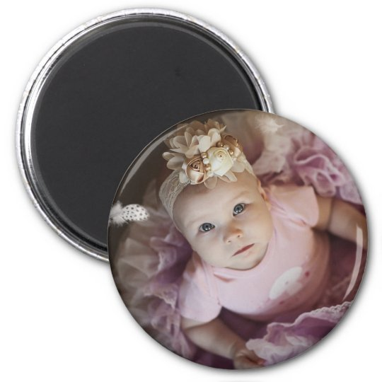 Personalised Baby Photo Magnets