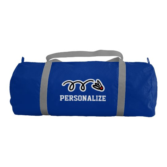 781710f5a378 Personalised badminton bag for player and coach