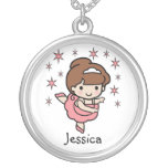 Personalised Ballerina Necklace