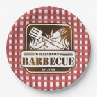 Personalised Barbecue Paper Plate