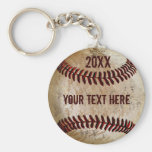 Personalised Baseball Keychains for TEAM or COACH