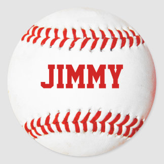 Personalised Baseball Stickers